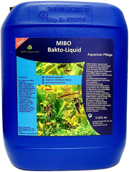 MIBO Bakto-Liquid 5000ml Aquarium Wasseraufbereiter