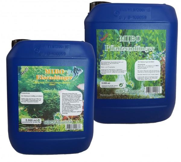 MIBO Pflanzen-Eisendünger Spar Set 5000ml